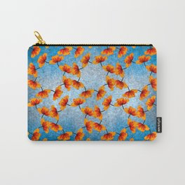 patten work (poppy) Carry-All Pouch