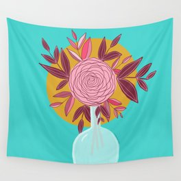 Rose posey Wall Tapestry