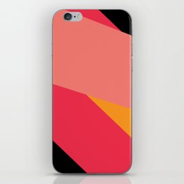 Colorful Yoga mat iPhone Skin