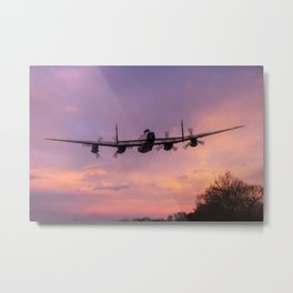 Lancaster Sunset Metal Print