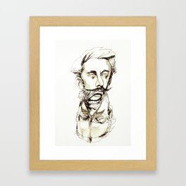 Tristan Corbière, Thick Black Trace, L'Ankou Framed Art Print