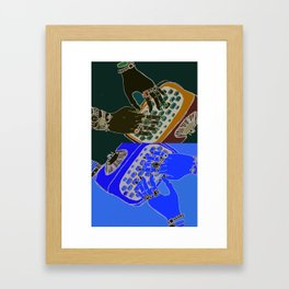 Bejewelled Hands Framed Art Print