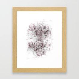 Stadtluft Macht Frei Nach Jahr Und Tag. Framed Art Print