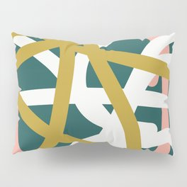 Abstract Lines 02B Pillow Sham