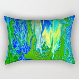Here comes the waters.... Rectangular Pillow