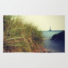 Lake Michigan Dune Grass Rug