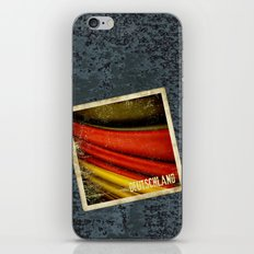 STICKER OF GERMANY flag iPhone & iPod Skin