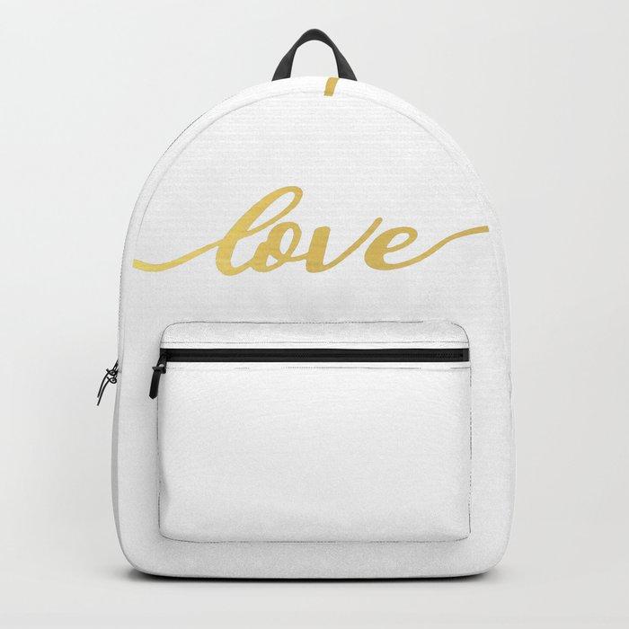 golden love Backpack