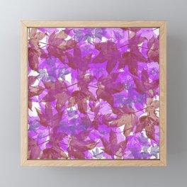 Leaves FG 5 Framed Mini Art Print