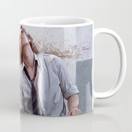Detective Smecker From The Boondock Saints - There Was a Fire Fight Coffee Mug