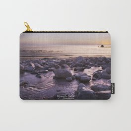 Rocky Sunset Carry-All Pouch
