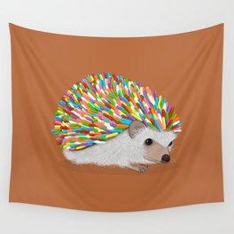 Hedgehog Sprinkles Wall Tapestry