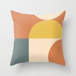 Abstract Geometric 04 Throw Pillow