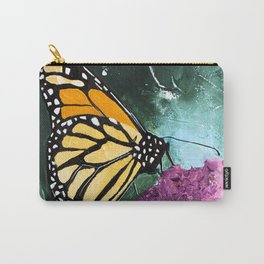 Butterfly - Soft Awakening - by LiliFlore Carry-All Pouch