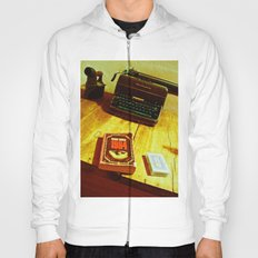 BOOK, CARDS AND MACHINE Hoody