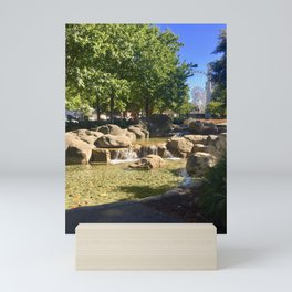 View of Skyview Mini Art Print