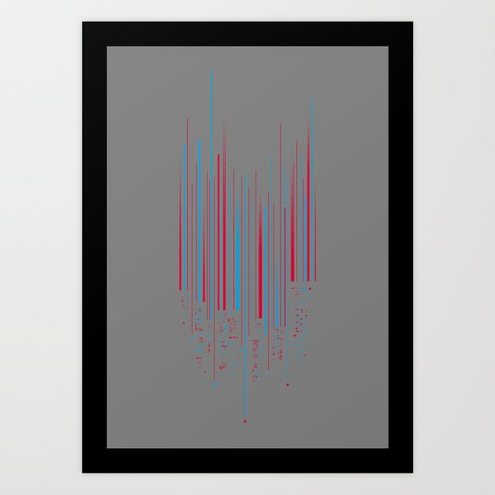 Urban Oscillations Art Print