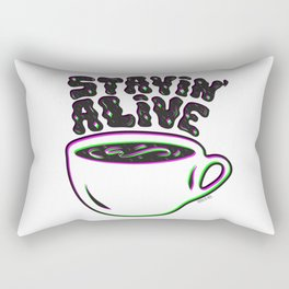 Stayin' Alive in 3D Rectangular Pillow
