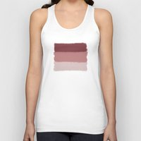the strokes Tank Tops featuring Terracotta Strokes by ArcticUtopia