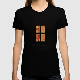 REAR WINDOW - Hitchcok Poster T-shirt