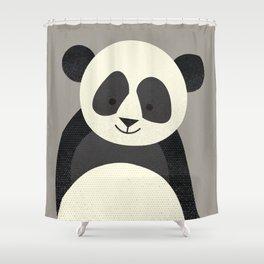 Whimsy Giant Panda Shower Curtain