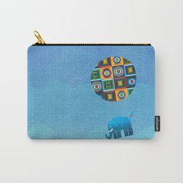 Where the blue elephants fly Carry-All Pouch