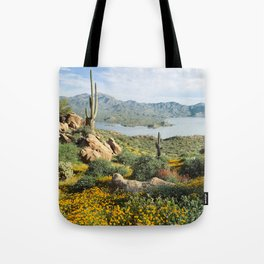 Arizona Blooms Tote Bag