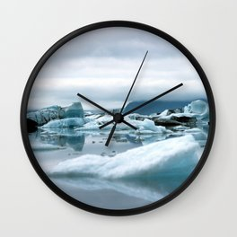 Ice Antartica Wall Clock