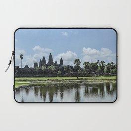 Angkor Wat at High Noon, Cambodia Laptop Sleeve
