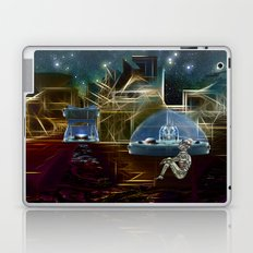 Do aliens get lonely as the lights begin to fade? Laptop & iPad Skin