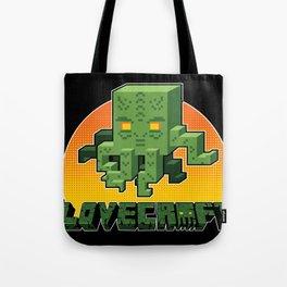 Minecraftian Tote Bag