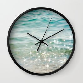 Falling Into A Beautiful Illusion Wall Clock