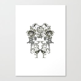 If Its Not Baroque, Don't Fix It! Canvas Print