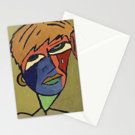 The one tear man Stationery Cards