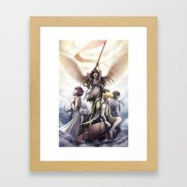 Wings of Victory Framed Art Print
