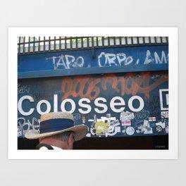 Coloseo Art Print