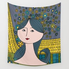 Midsummer Dream Wall Tapestry