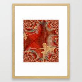 Couleur D'une Danse De Ballet 3 Framed Art Print