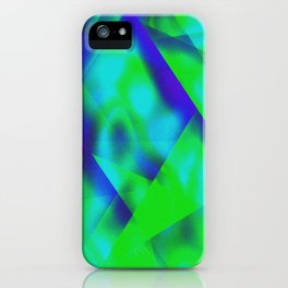 Green Color Package iPhone Case