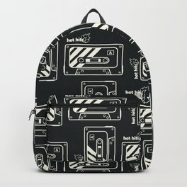 Black and White Hot Hits Backpack