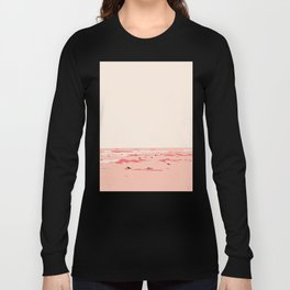 Sunset Tiny Surfers in Lima Illustrated Long Sleeve T-shirt