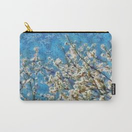 Blossom and Blue Sky In Monet Style Carry-All Pouch