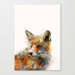 The cunning Fox Canvas Print