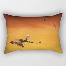 Pelican Heaven Rectangular Pillow