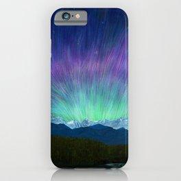 Arctic Aura - Painting iPhone Case