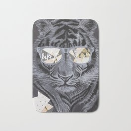 Eye of the tiger Bath Mat