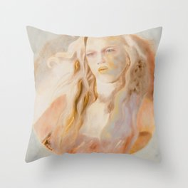 Ether Throw Pillow