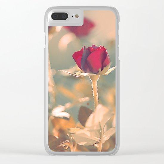Romantic rose(4) Clear iPhone Case