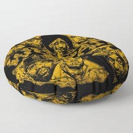 Wu Tang Forever fan Floor Pillow