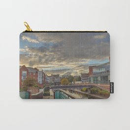 Foot Bridge at Gas Street Basin Carry-All Pouch
